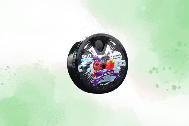 Orman Meyvesi Aromalı Tablet Şekerleme